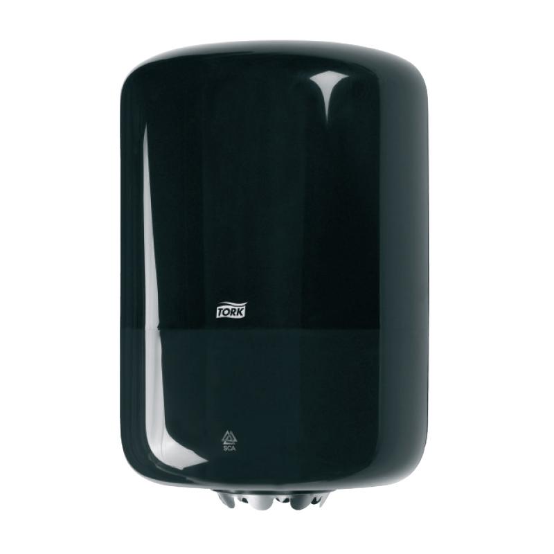 Centrālās padeves dozators TORK, 360 x 239 x 227 mm, melnā krāsā