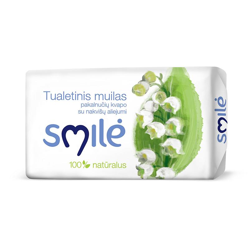 Tualetes ziepes SMILE, maijpuķīšu, 100 g