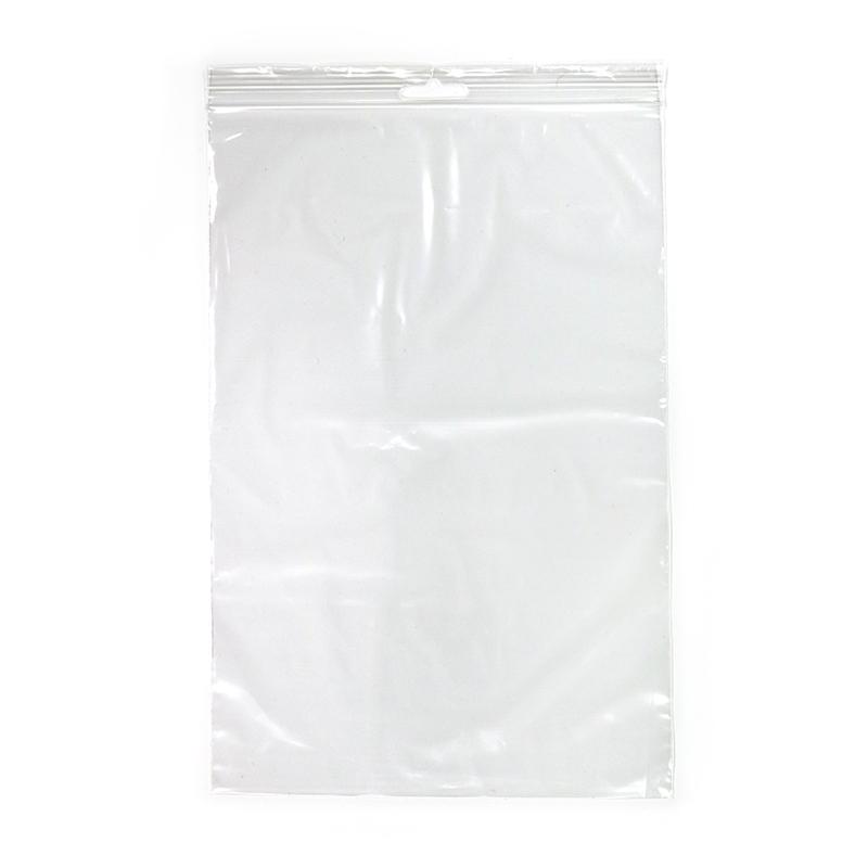 Slēdzamais maisiņš ar izmēru 60 x 80 mm, 100 gab.