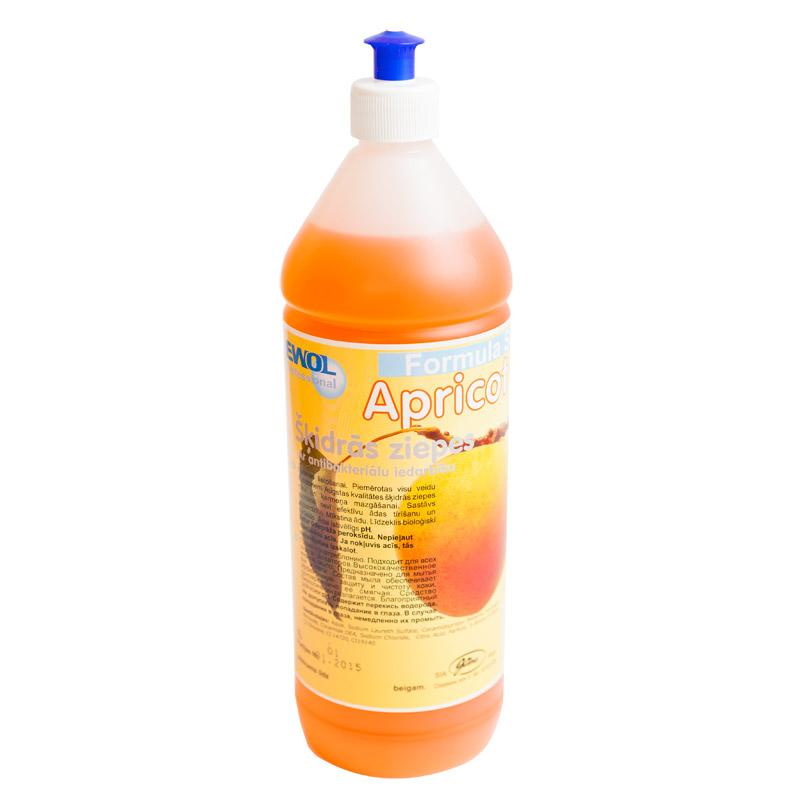 Šķidrās ziepes ar antibakteriālu iedarbību EWOL Professional Formula SD, ar aprikožu smaržu, 1 L