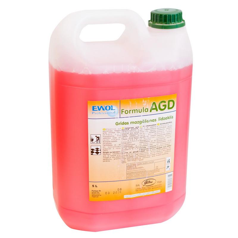 Grīdas mazgāšanas līdzeklis EWOL Professional Formula AGD, 5 L-->400-02595