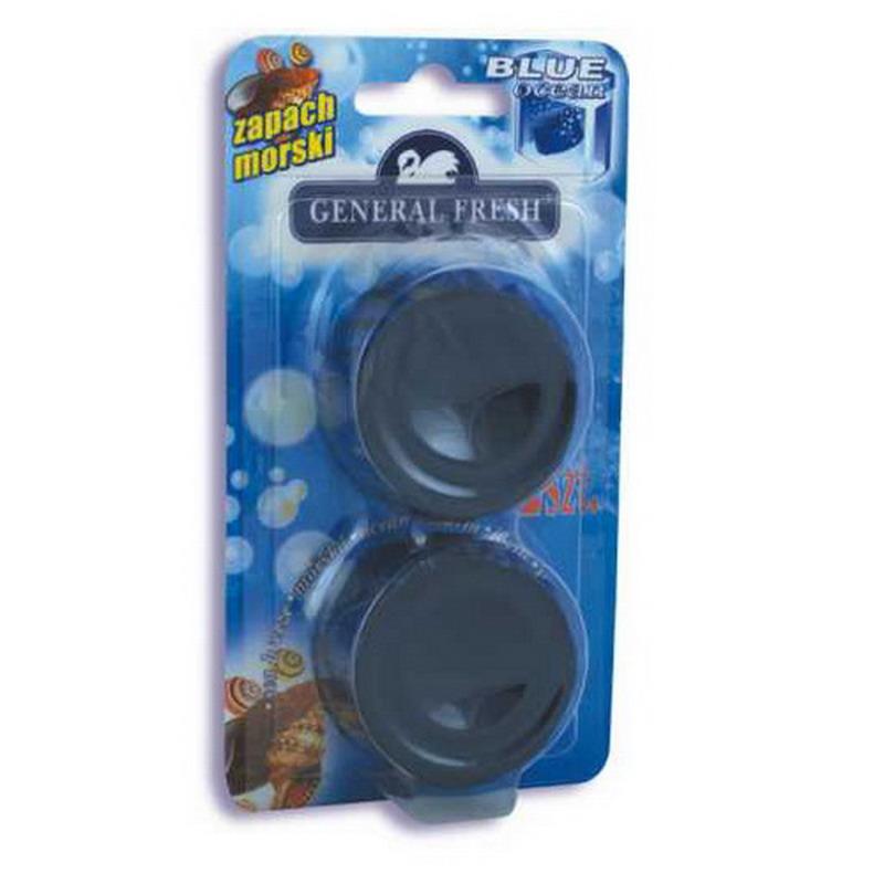 Tualetes tabletes WC Blue, 2 gab./ iepak., asorti (Forest vai Ocean)