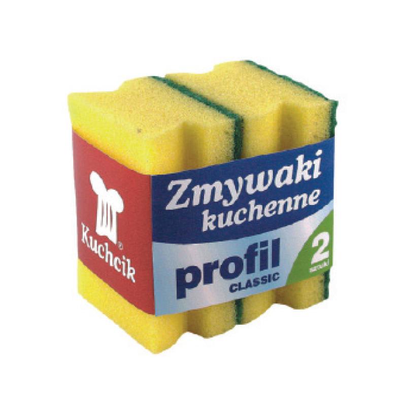 Trauku un saimniecības mazgāšanas sūklis KUCHCIK PROFIL CLASSIC, 70 x 90 x 45 mm
