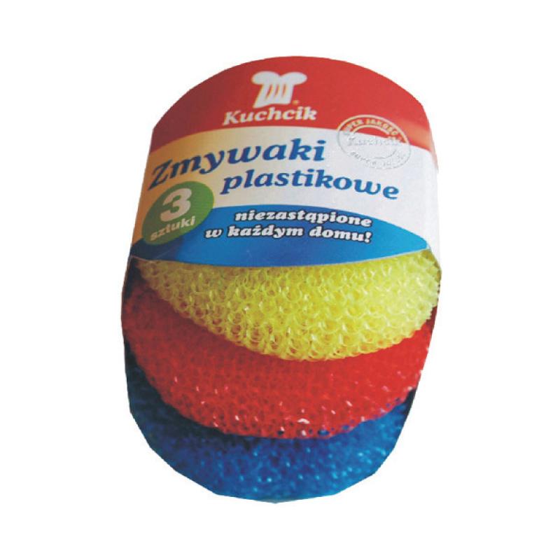 Katlu beržamais sūklis KUCHCIK, plastmasas