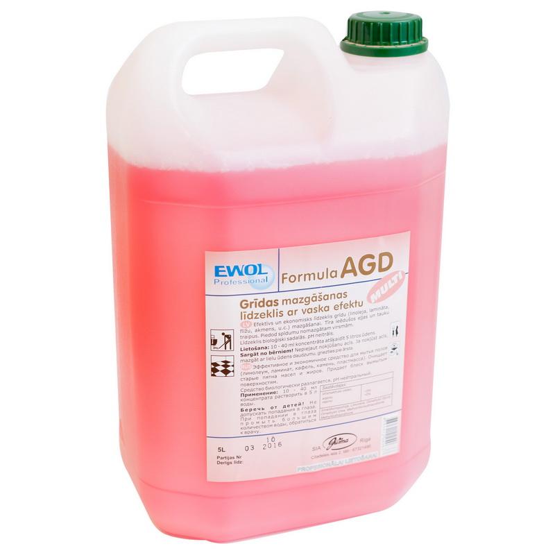 Grīdas mazgāšanas līdzeklis ar vaska efektu EWOL Professional Formula AGD Multi, 5 L
