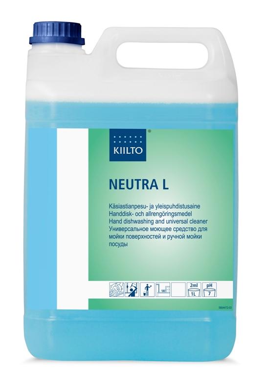 Trauku un dažādu virsmu mazgāšanas līdzeklis KIILTO Neutra L 5L