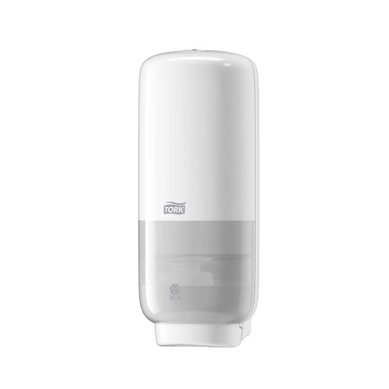 Putu ziepju dozators TORK S4 ar sensoru, 130 x 113 x 278 mm, baltā krāsā