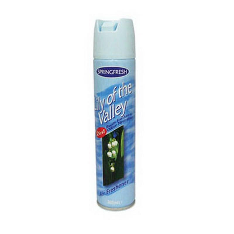Gaisa atsvaidzinātājs SPRING FRESH Lily of the Valley, 300 ml