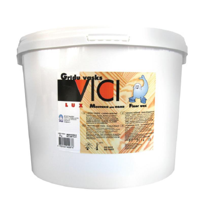 Grīdas vasks VICI Lux, bezkrāsains, 2.5 kg
