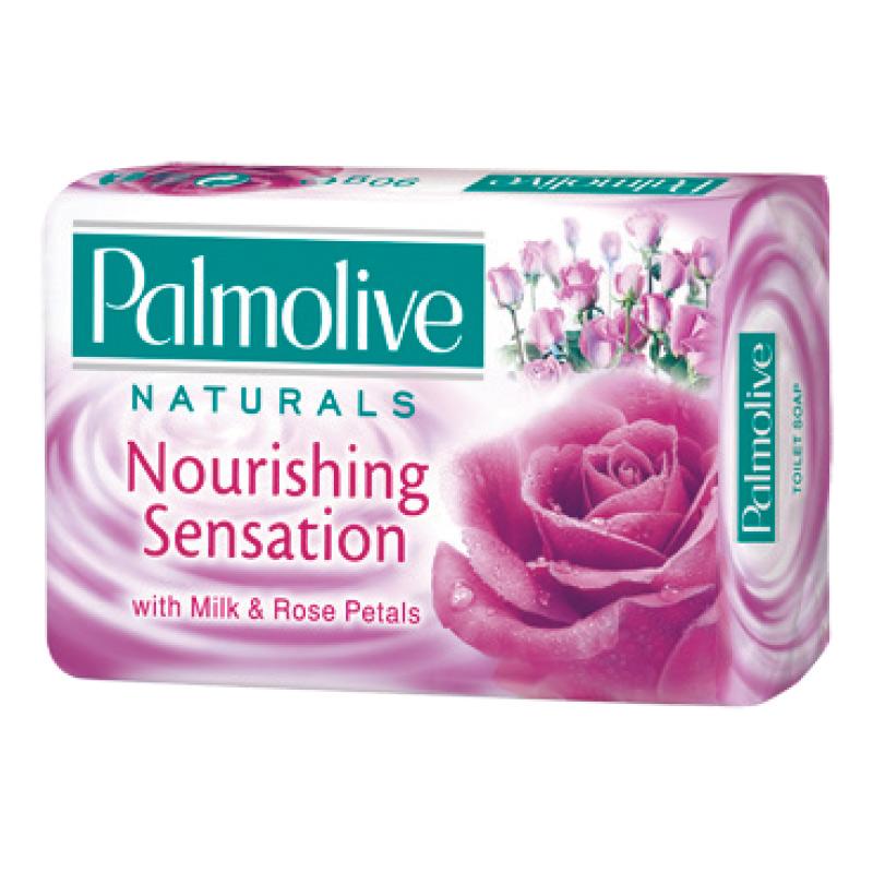 Tualetes  ziepes  PALMOLIVE Naturals Milk & Rose Petals, 90g