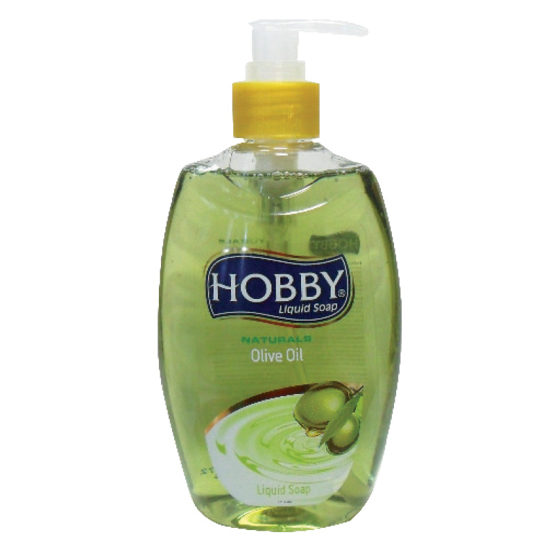 Šķidrās ziepes HOBBY Olive Oil, 400 ml