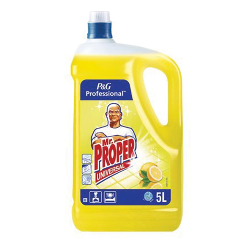Universāls tīrīšanas līdzeklis MR.PROPER Lemon, 5 ..