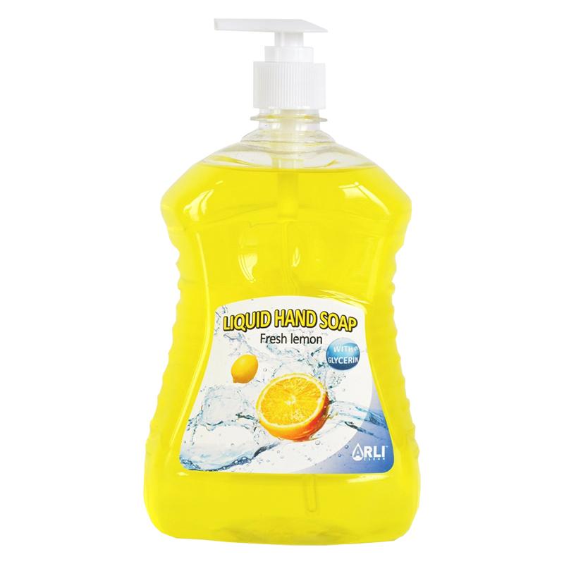 Šķidrās ziepes ARLI CLEAN Fresh lemon, 1 l