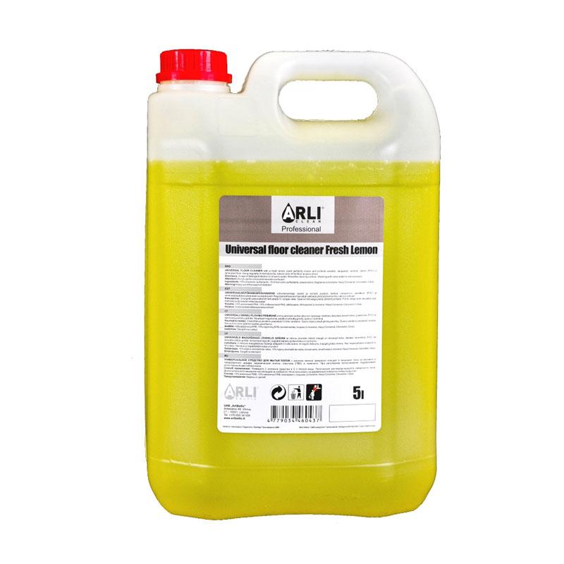 Grīdas tīrīšanas līdzeklis ARLI CLEAN, citronu, 5 l