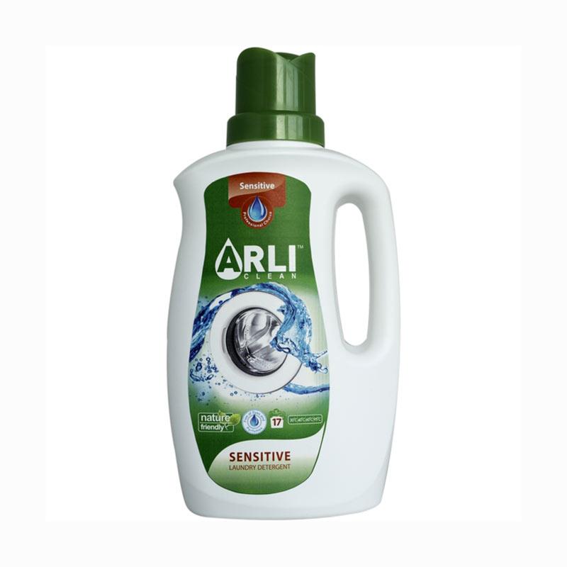 Šķidrais veļas mazgāšanas līdzeklis ARLI CLEAN Sensitive, 1 L