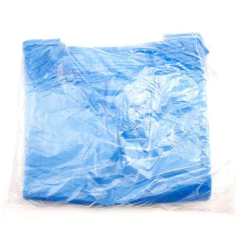 Maisiņš ar rokturi HDPE, 100 gab., 20 mkr, 30 x 8 x 55 cm, asorti krāsās