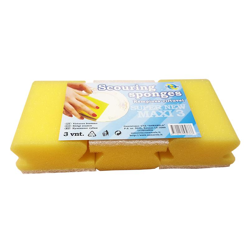 Trauku un saimniecības sūklis SAMARELA Super New Maxi