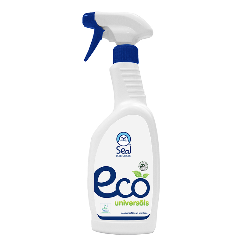 Universāls tīrīšanas līdzeklis SEAL Eco ar smidzin..