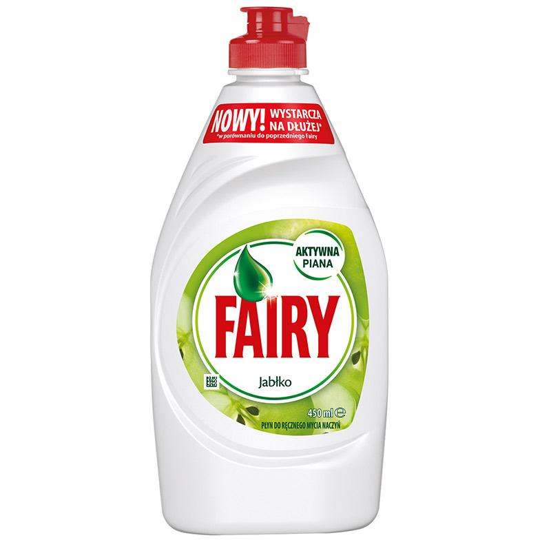 Trauku mazgāšanas līdzeklis FAIRY Apple, 450 ml