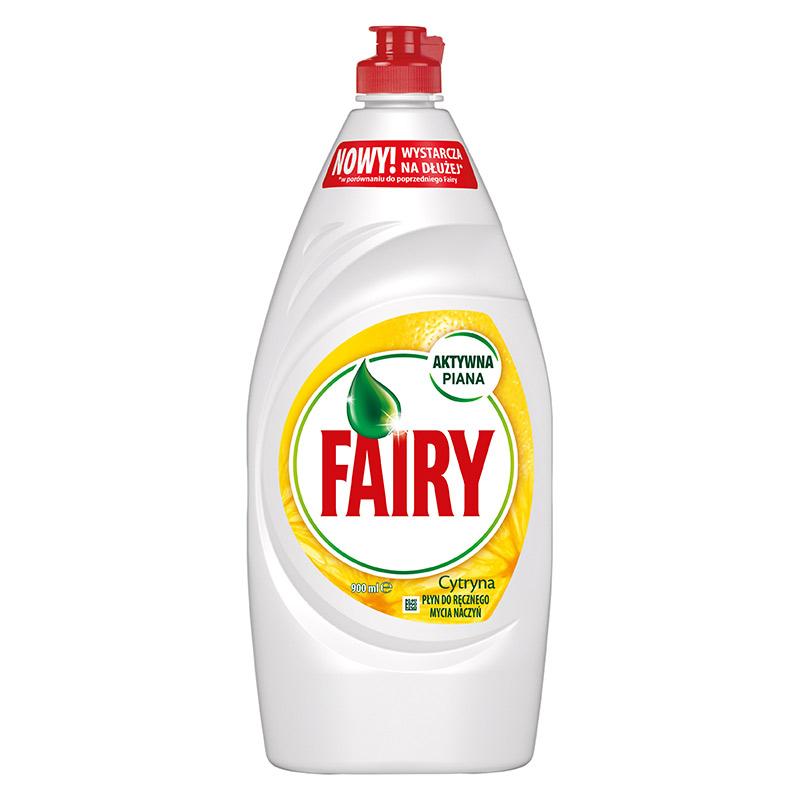 Trauku mazgāšanas līdzeklis FAIRY Lemon, 900 ml