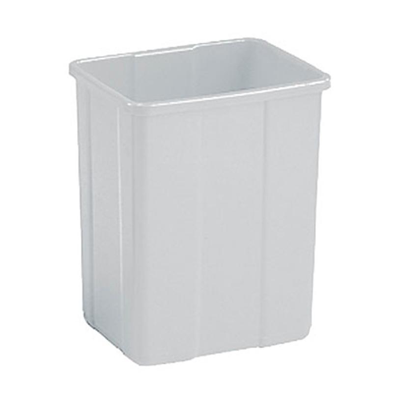 Atkritumu tvertne PATTY, bez vāka, balta