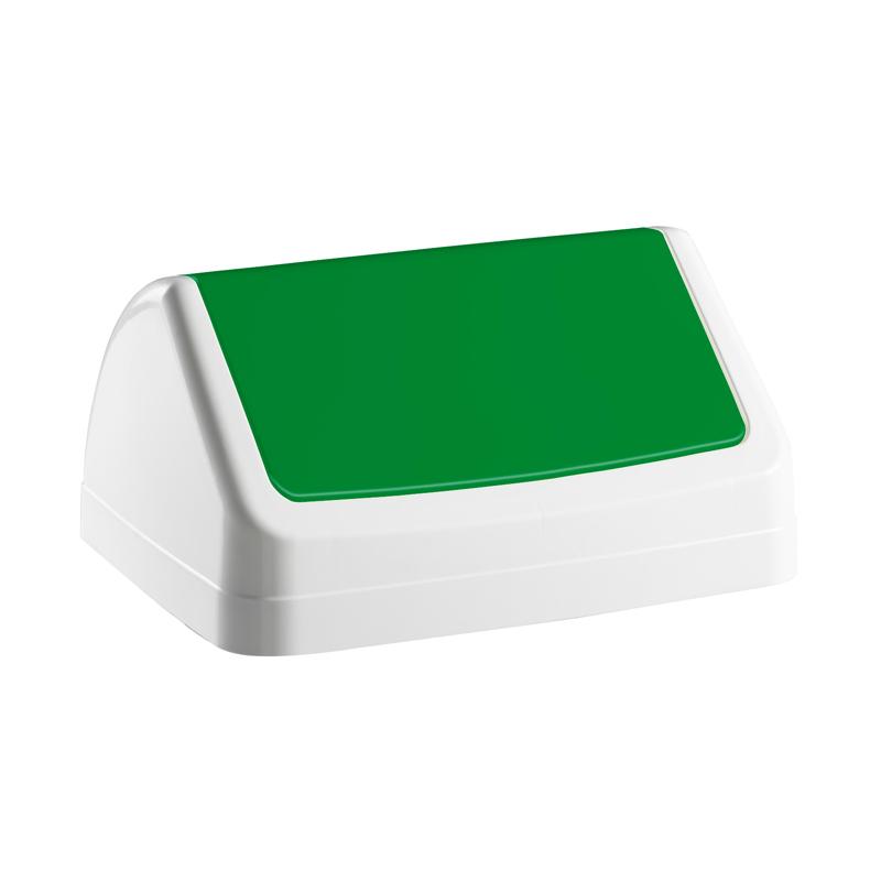 Vāks atkritumu tvertnei PATTY, zaļā krāsā