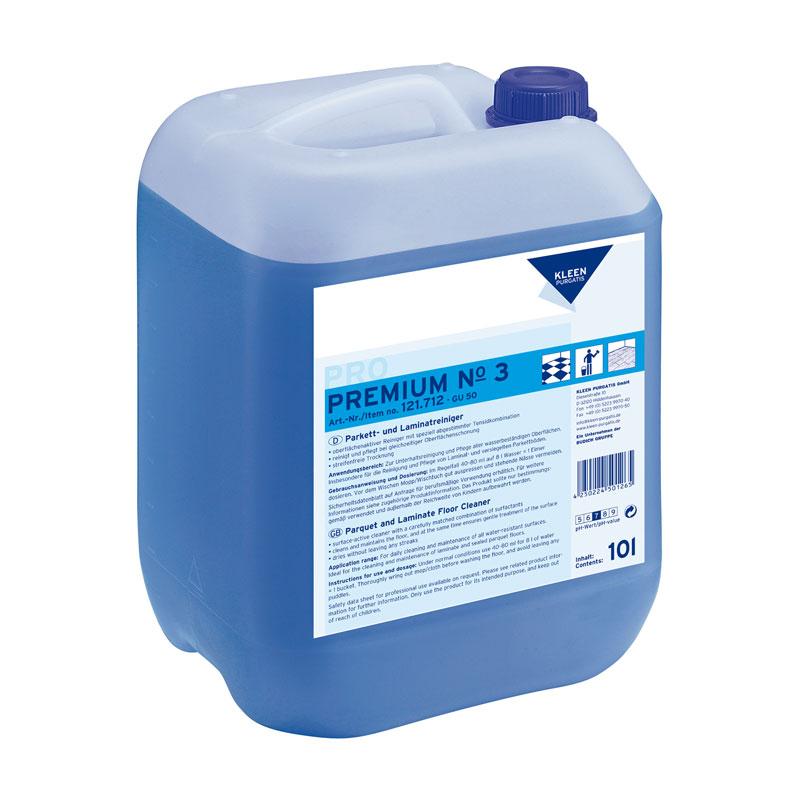 Lamināta un parketa grīdu tīrīšanas līdzeklis KLEEN PURGATIS Premium Nr. 3, 10 l