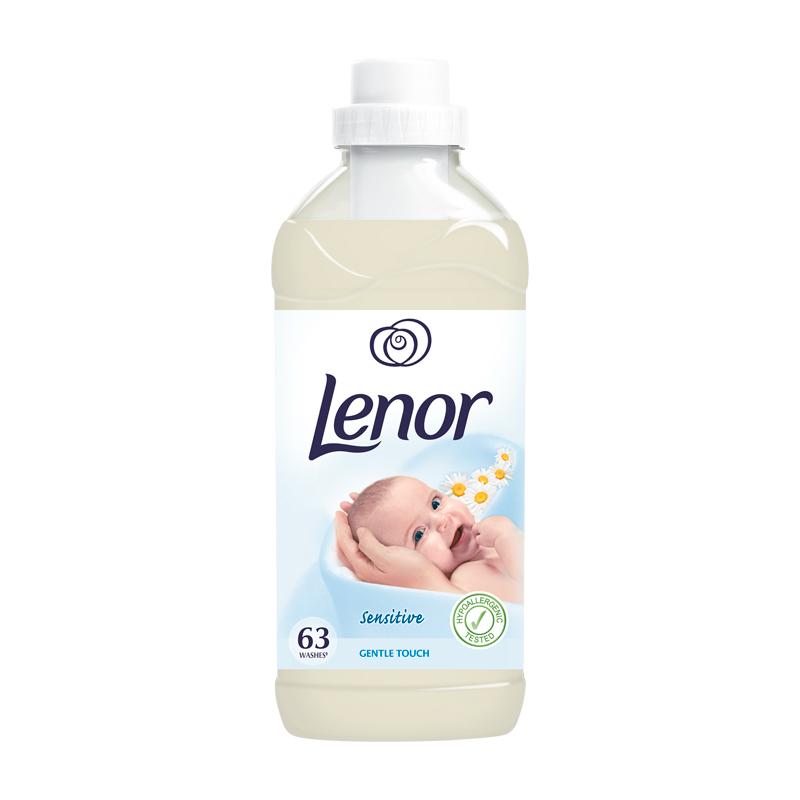 Veļas mīkstināšanas līdzeklis LENOR Gentle Touch, 1.9 l