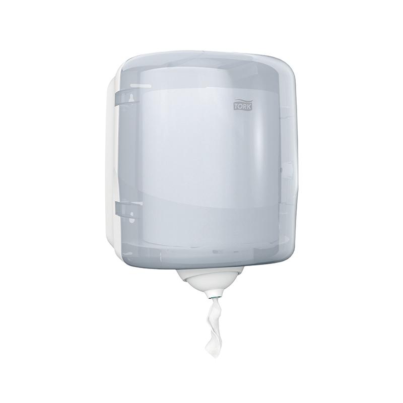 Papīra dvieļu turētājs TORK Reflex M4, 255 x 239 x 331 mm, baltā krāsā