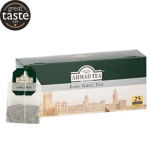 Tēja AHMAD EARL GREY, 25 maisiņi x 2 g paciņā