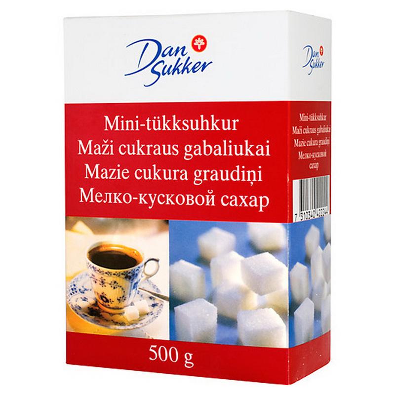 Cukurs graudu DAN SUKKER, balts, 500 g