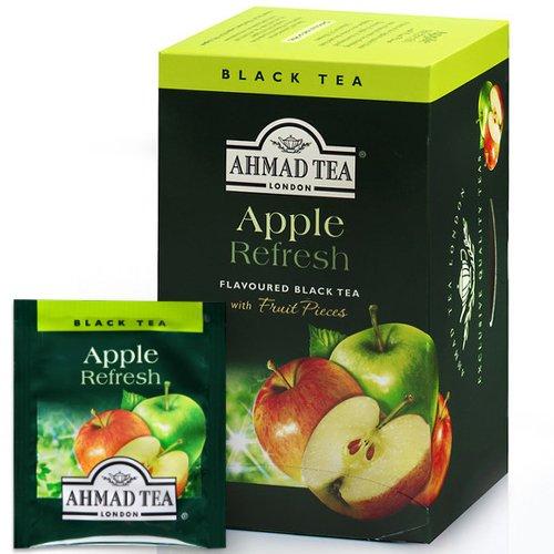 Tēja AHMAD Alu Ābolu atspirdzinājums, 20 x 2 g maisiņi paciņā