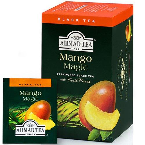 Tēja AHMAD Alu Mango maģija, 20 x 2 g maisiņi paciņā