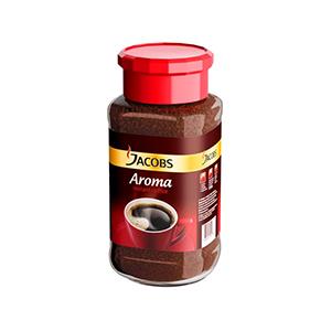 Šķīstošā kafija JACOBS, Aroma, 100 g