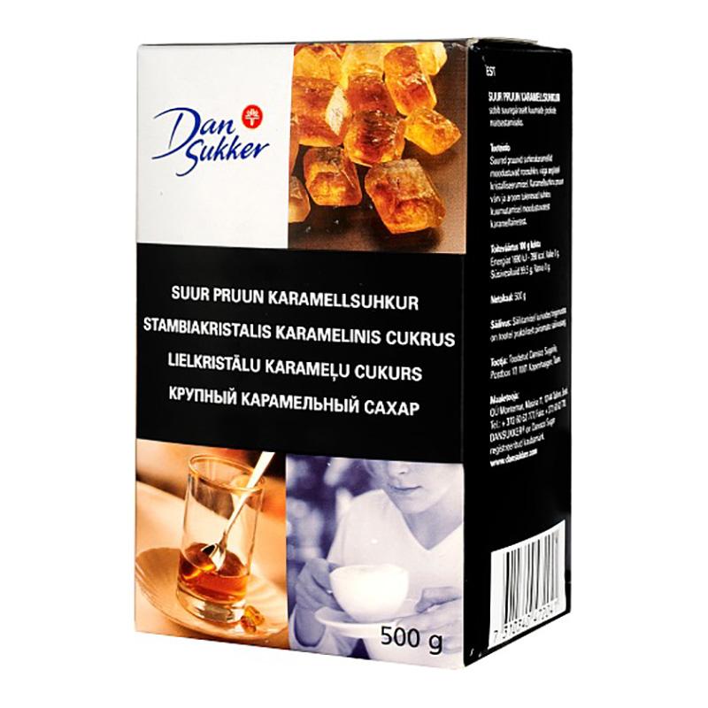 Lielkristālu karameļu cukurs DAN SUKKER, 500 g