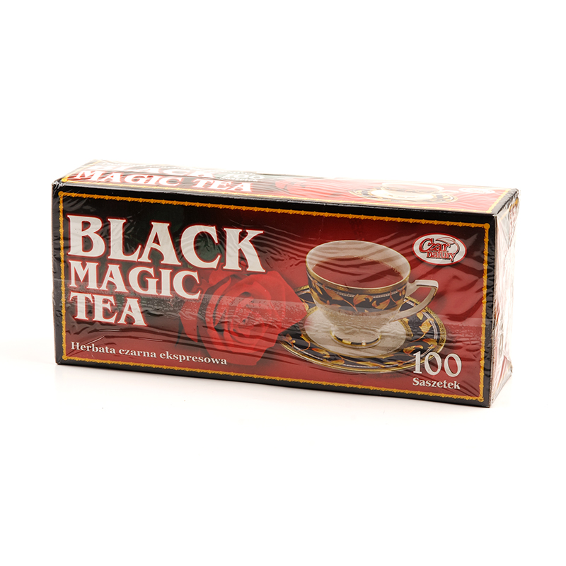 Melnā tēja INDIAN MAGIC, 100 maisiņi paciņā