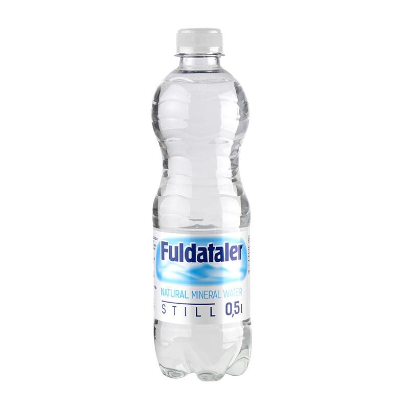 Minerālūdens FULDATALER, negāzēts, 0.5 L, plastmasas pudelē
