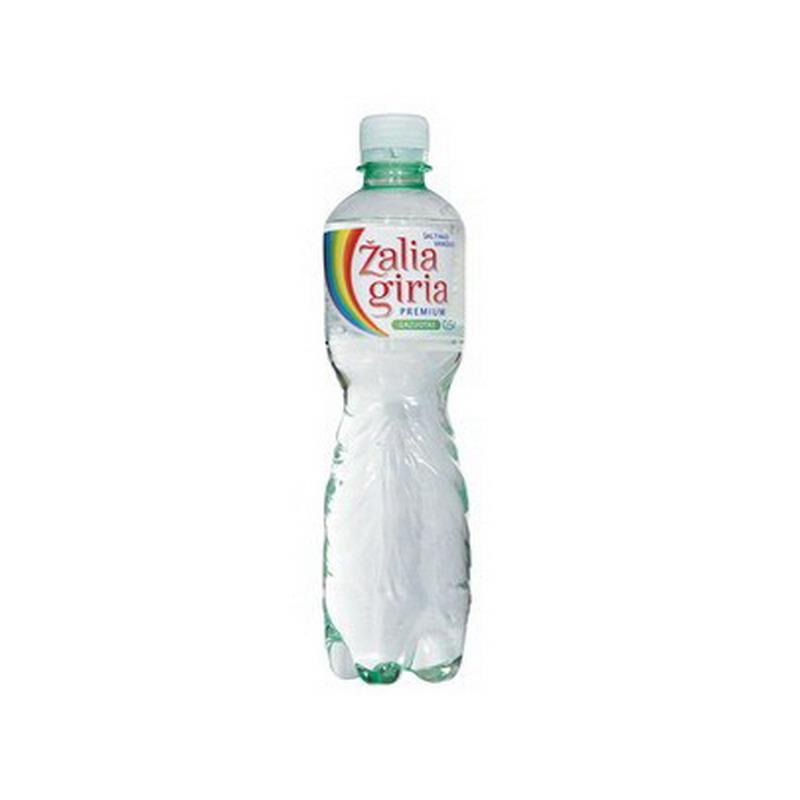 Dzeramais ūdens ZALIA GIRIA, gāzēts, 0.5 L, plastmasas pudelē