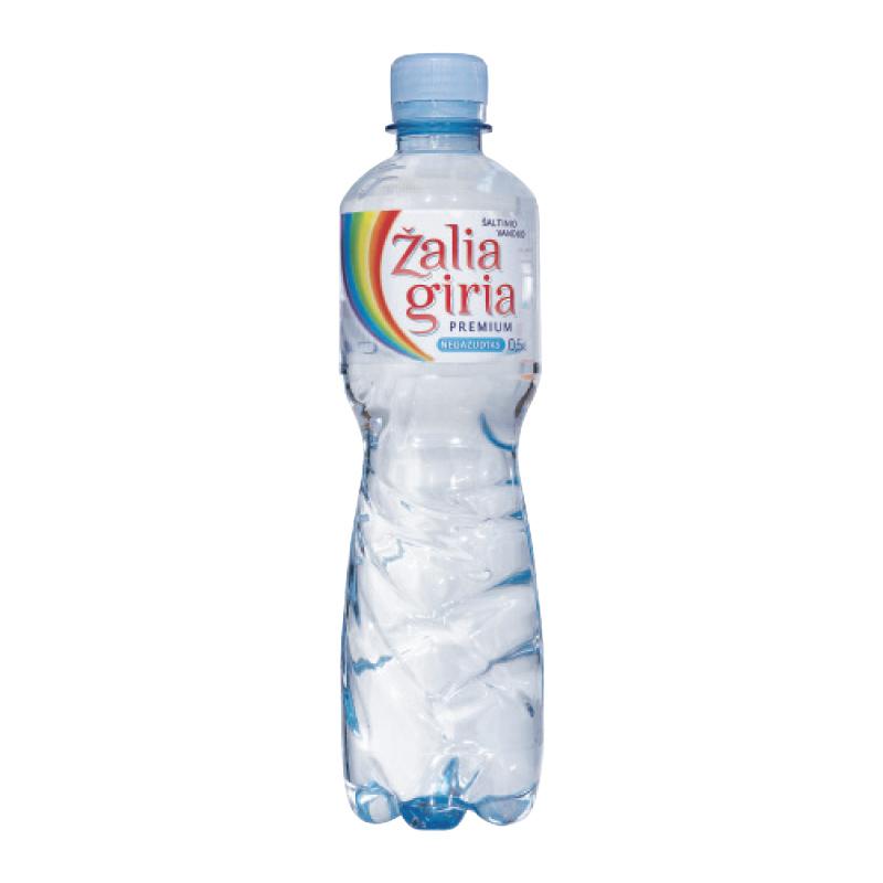 Dzeramais ūdens ZALIA GIRIA, negāzēts, 0.5 L, plastmasas pudelē