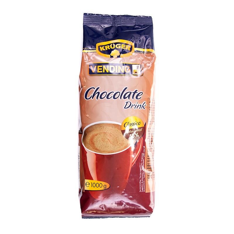 Šokolādes dzēriens KRÜGER (VENDING), 15%, 1 kg