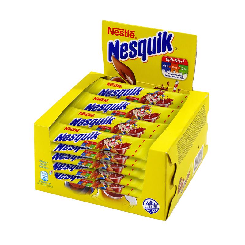 Šokolādes dzēriens NESQUIK, 28 x 13.85 g