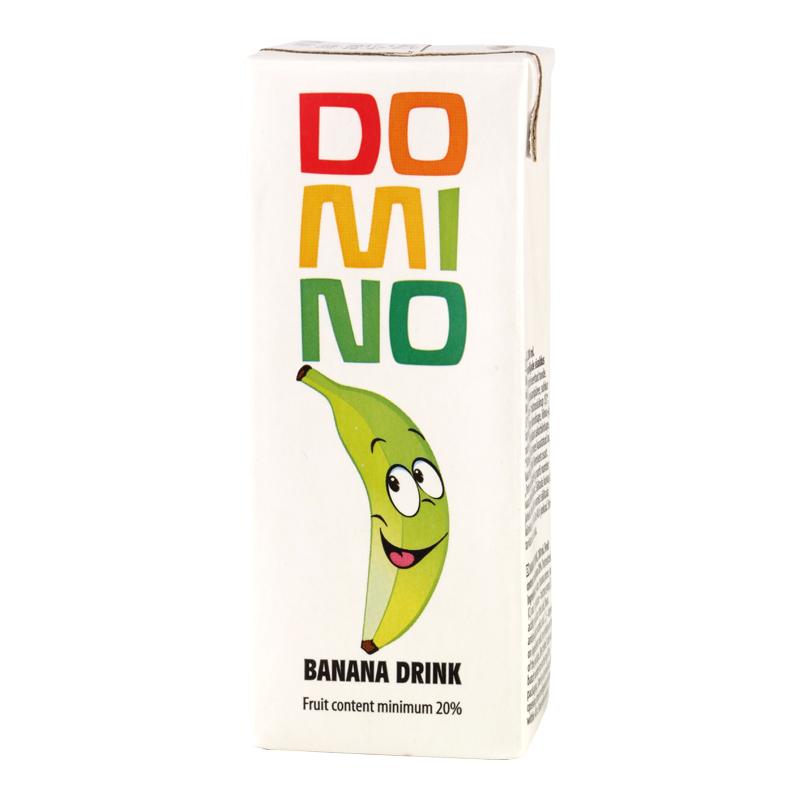 Banānu sulas dzēriens DOMINO, 200 ml