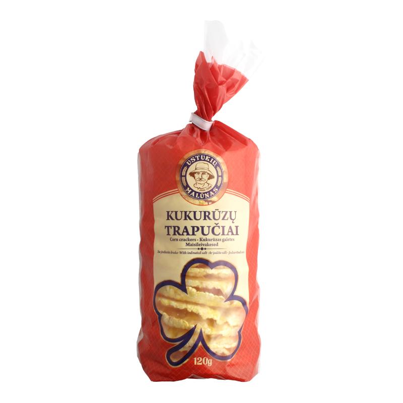 Kukurūzas galetes, 120 g