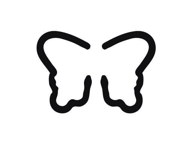 Bērnu perforators HEYDA Butterfly - figūriņu izgriešanai